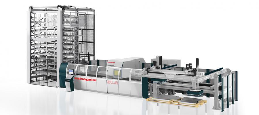 salvagnini ponsmachine lasermachine sl4